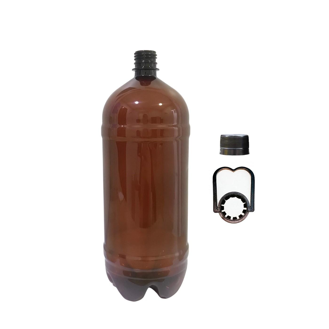 Garrafa Plástica PET 2L (Growler)