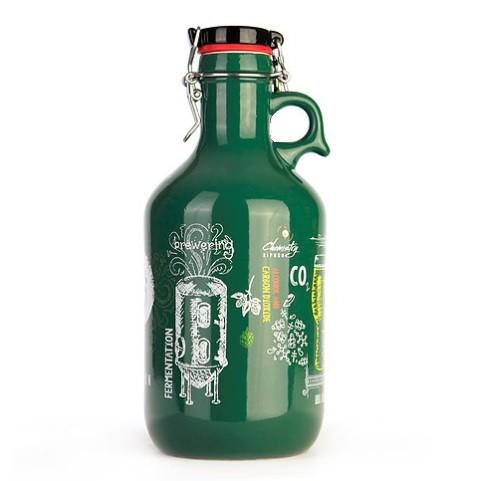 Growler de Cerâmica 2l - Química Cervejeira  - Cerveja da Casa