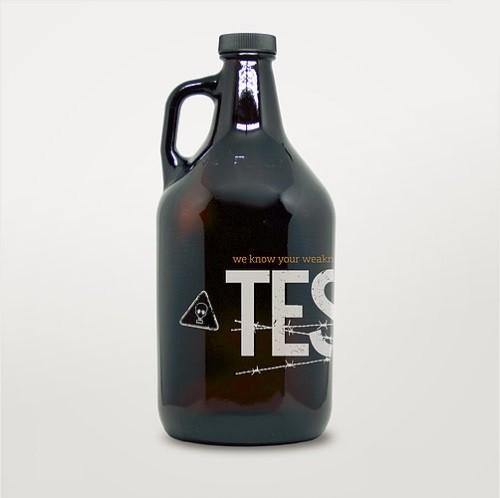 Growler de Vidro 1,9l - Testify  - Cerveja da Casa