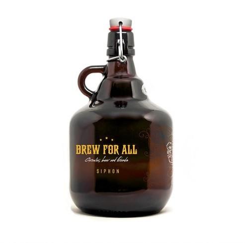 Growler de Vidro 2l Modelo Belga - Caveira  - Cerveja da Casa