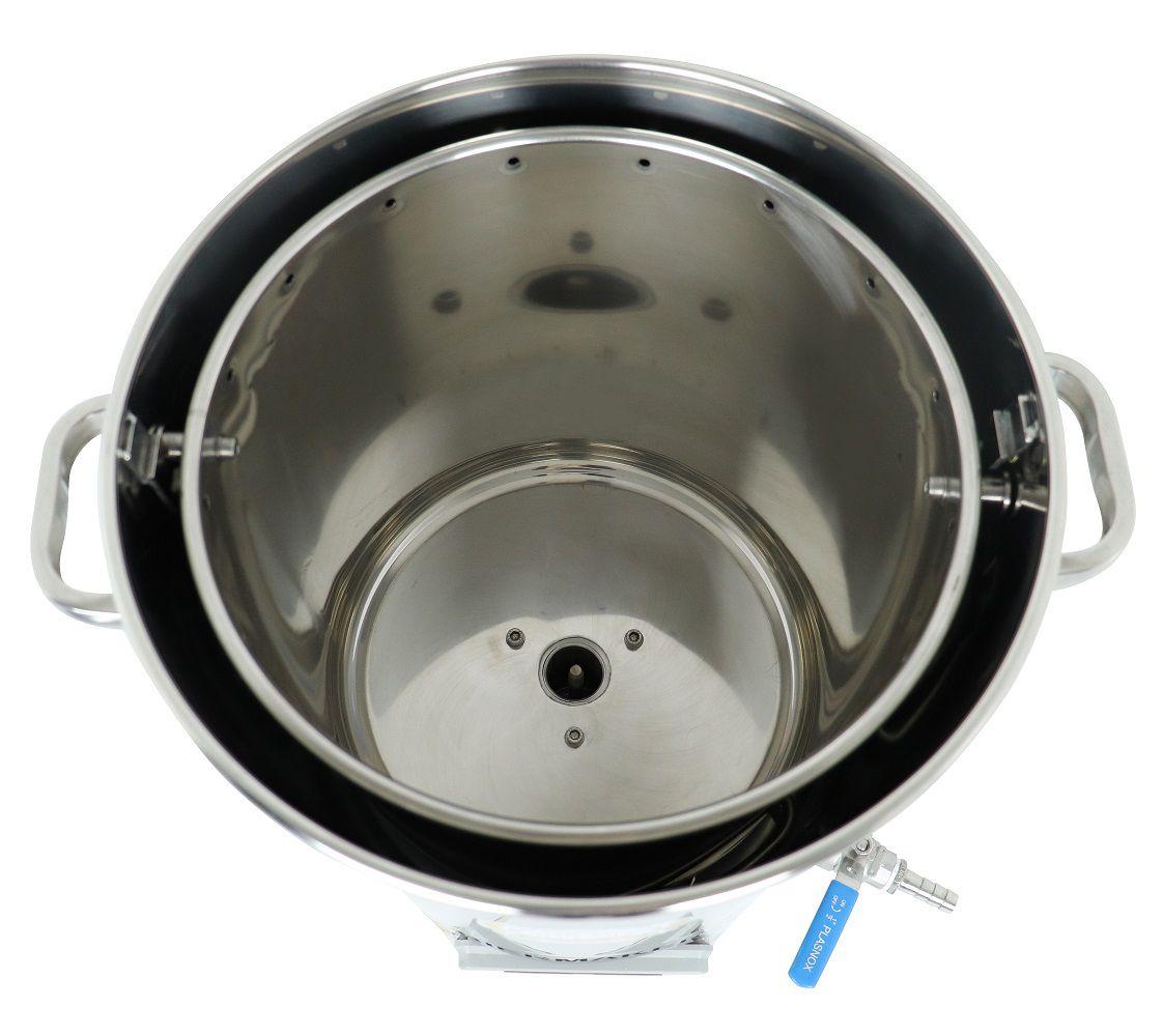 Kit Cervejeiro Completo com Panela Automática BierMaker 30 litros