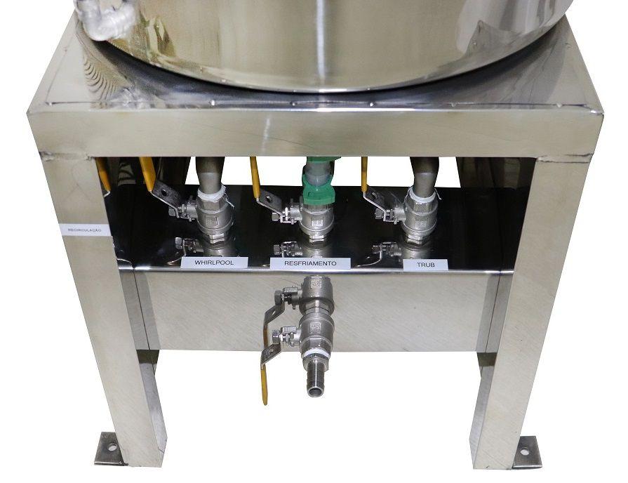 Kit Cervejeiro Completo com Panela Automática BierMaker 75L