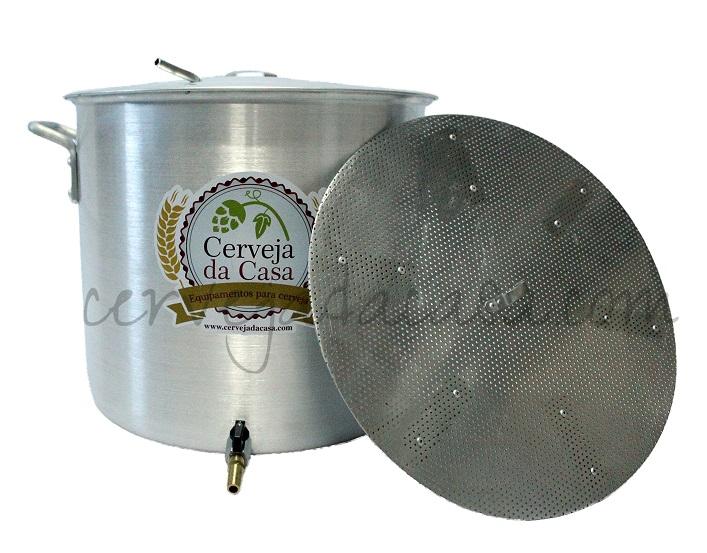 Kit Cervejeiro Completo p/ Produção de Cerveja Artesanal 10 a 60 litros  - Cerveja da Casa