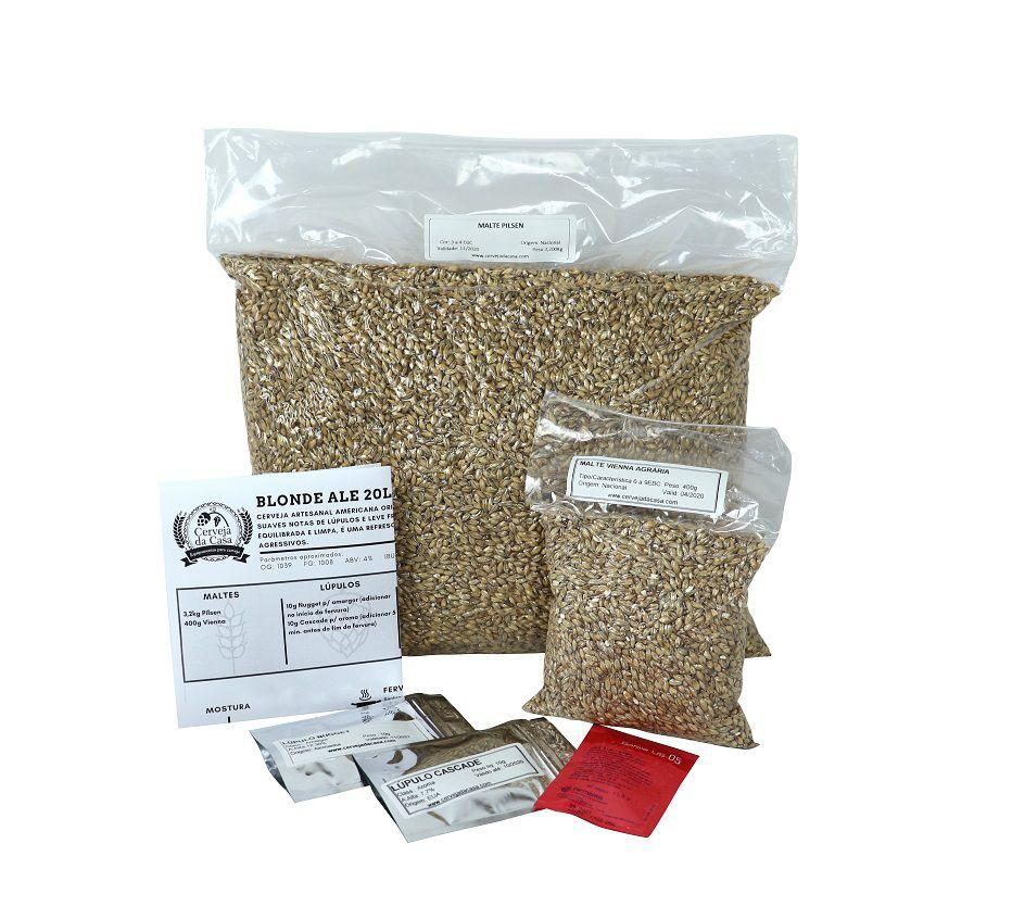 Kit com Caldeirões em Inox p/ Produção de 20L de Cerveja Artesanal - Moedor Não Incluso