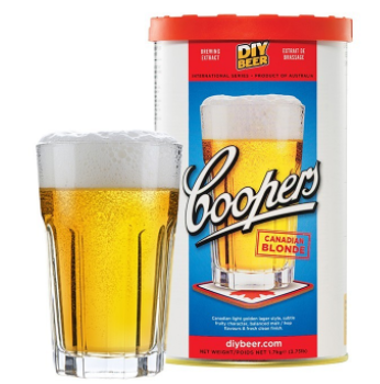 Kit de Extrato Canadian Blonde - Coopers (23 Litros)  - Cerveja da Casa