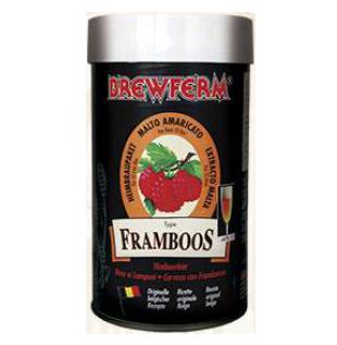 Kit de Extrato Framboos - Brewferm 12 Litros  - Cerveja da Casa