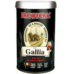 Kit de Extrato Gallia Belgian Ale - Brewferm 12 Litros  - Cerveja da Casa