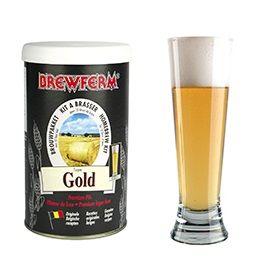 Kit de Extrato Gold - Brewferm 12 Litros