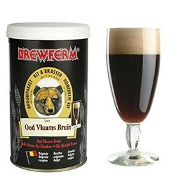 Kit de Extrato Old Flemish Brown - Brewferm 12 Litros