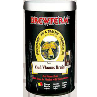 Kit de Extrato Old Flemish Brown - Brewferm 12 Litros  - Cerveja da Casa