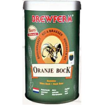 Kit de Extrato Oranje Bock - Brewferm 12 Litros  - Cerveja da Casa