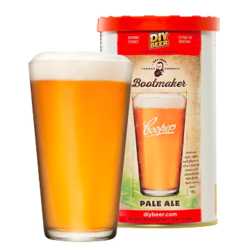 Kit de Extrato Pale Ale - Coopers (23 Litros)