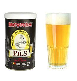 Kit de Extrato Pils - Brewferm 12 Litros  - Cerveja da Casa