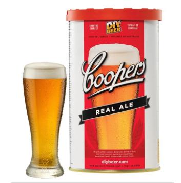 Kit de Extrato Real Ale - Coopers (23 Litros)  - Cerveja da Casa