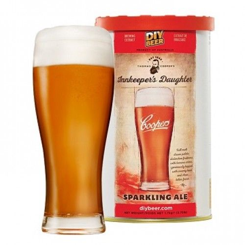 Kit de Extrato Sparkling Ale - Coopers (23 Litros)  - Cerveja da Casa