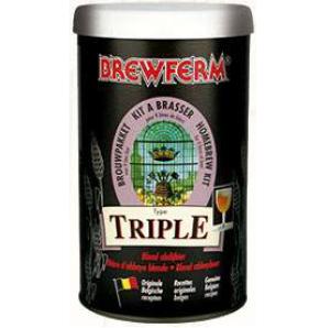 Kit de Extrato Triple - Brewferm 9 Litros  - Cerveja da Casa