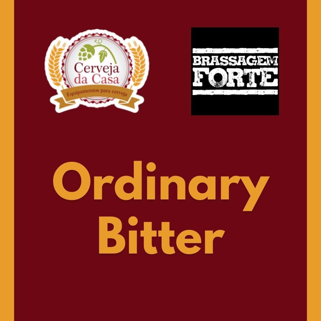 Kit de Insumos BRASSAGEM FORTE Ordinary Bitter (Opções de 10 a 60L)