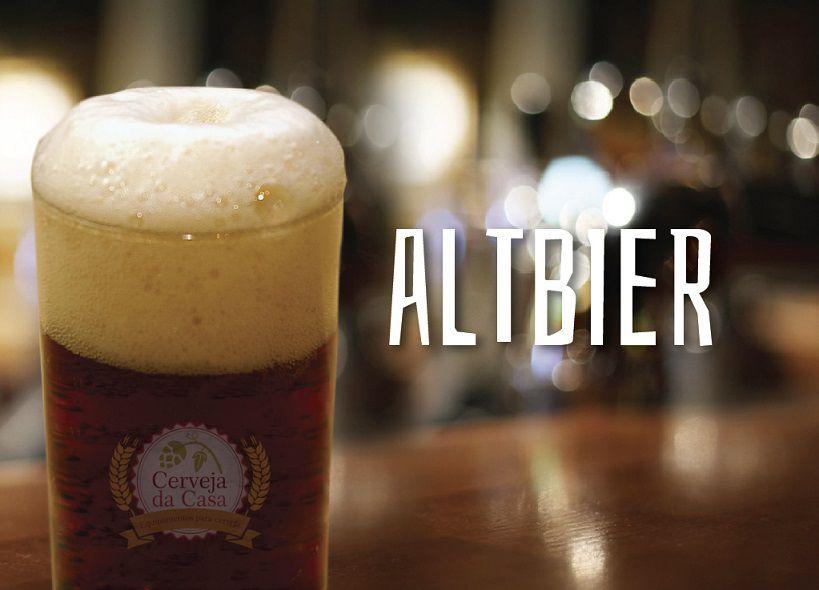 Kit de Insumos Cerveja Artesanal Altbier (Opções de 10 a 60L)