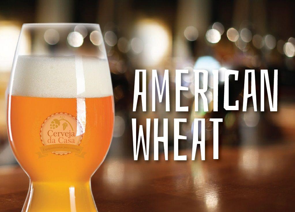 Kit de Insumos Cerveja Artesanal American Wheat (Opções de 10 a 60L)  - Cerveja da Casa