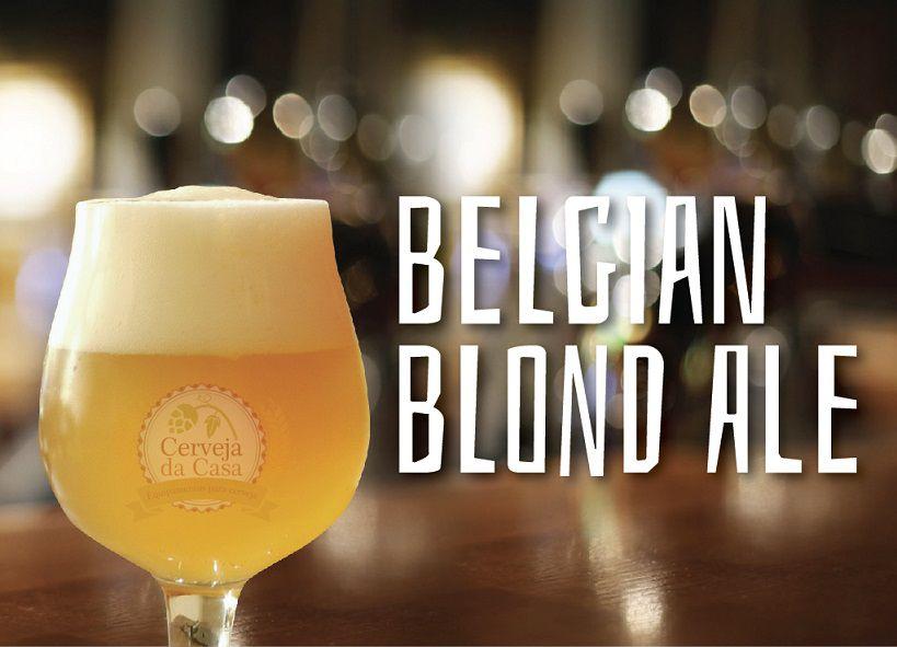 Kit de Insumos Cerveja Artesanal Belgian Blond Ale (Opções de 10 a 60L)