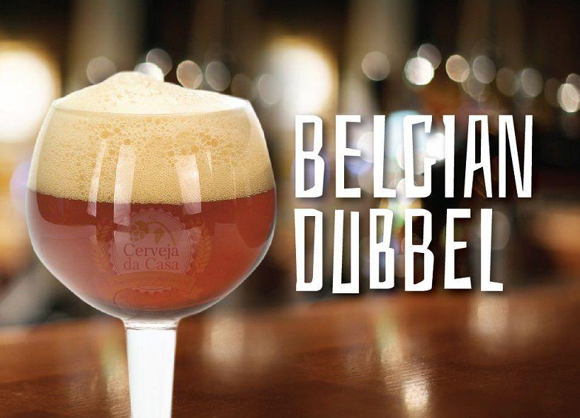 Kit de Insumos Cerveja Artesanal Belgian Dubbel (Opções de 10 a 40L)  - Cerveja da Casa