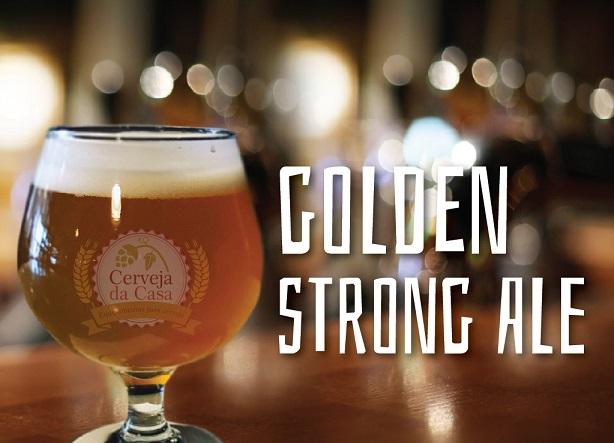 Kit de Insumos Cerveja Artesanal Belgian Golden Strong Ale (Opções de 10 a 40L)  - Cerveja da Casa