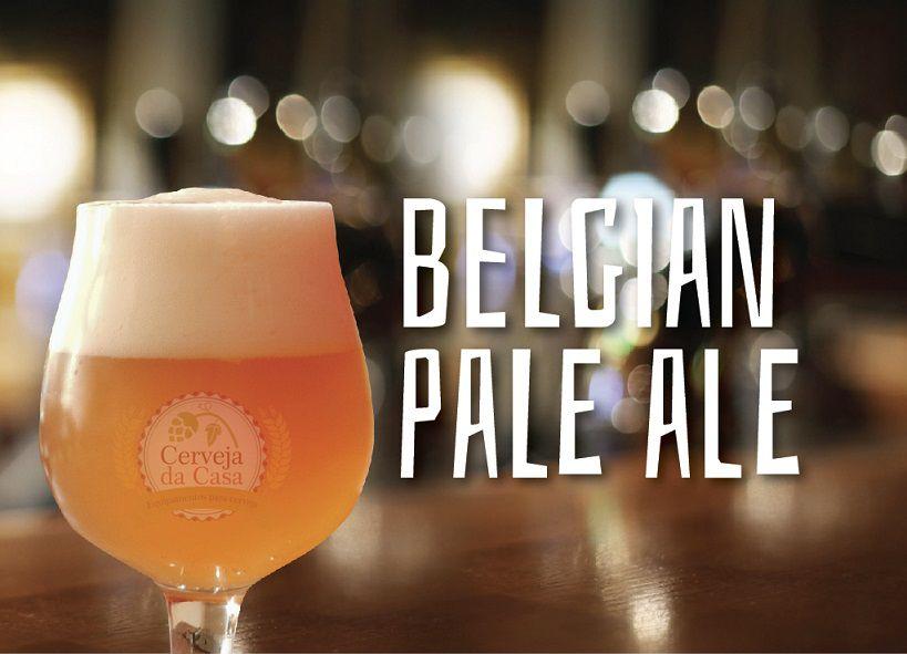 Kit de Insumos Cerveja Artesanal Belgian Pale Ale (Opções de 10 a 60L)