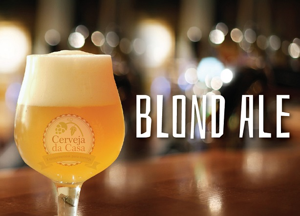 Kit de Insumos Cerveja Artesanal Blond Ale (Opções de 10 a 60L)  - Cerveja da Casa