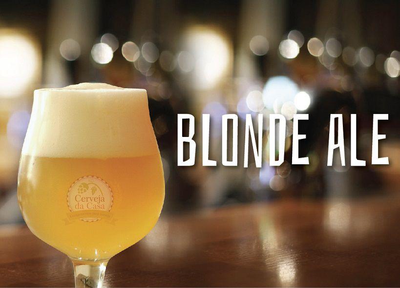 Kit de Insumos Cerveja Artesanal Blonde Ale (Opções de 10 a 60L)  - Cerveja da Casa