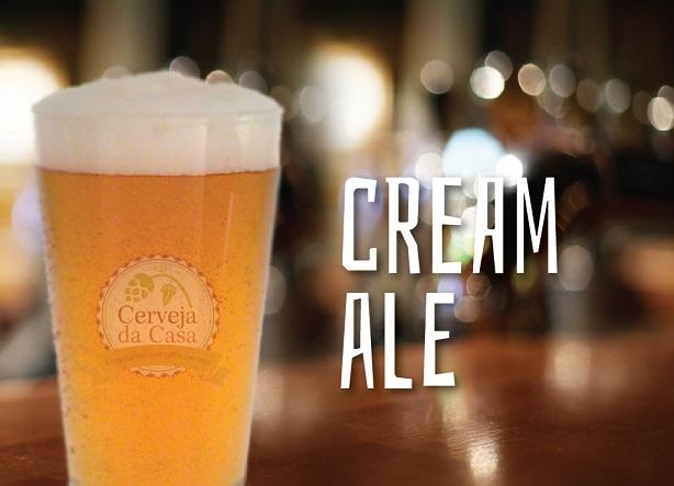 Kit de Insumos Cerveja Artesanal Cream Ale (Opções de 10 a 60L)  - Cerveja da Casa