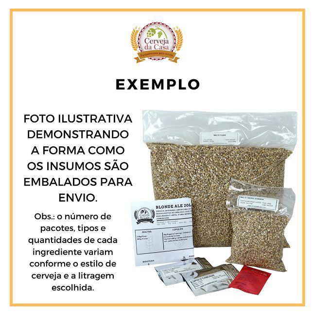 Kit de Insumos Cerveja Artesanal English IPA (Opções de 10 a 60L)