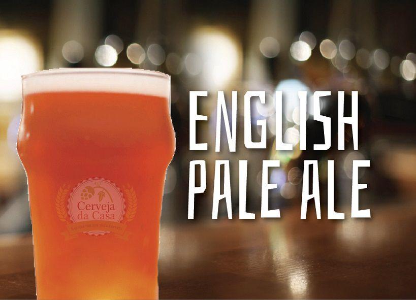 Kit de Insumos Cerveja Artesanal English Pale Ale (Opções de 10 a 60L)  - Cerveja da Casa