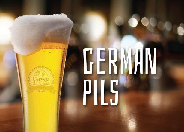 Kit de Insumos Cerveja Artesanal German Pils - Lager (Opções de 10 a 40L)