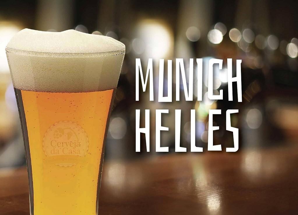 Kit de Insumos Cerveja Artesanal Munich Helles (Opções de 10 a 60L)  - Cerveja da Casa