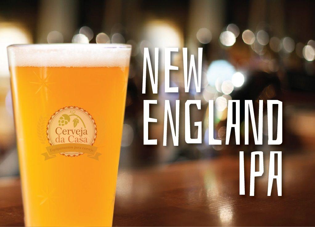 Kit de Insumos Cerveja Artesanal New England IPA - NE IPA (Opções de 10 a 40L)