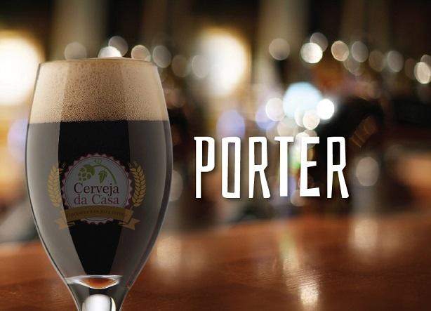 Kit de Insumos Cerveja Artesanal Porter (Opções de 10 a 60L)  - Cerveja da Casa