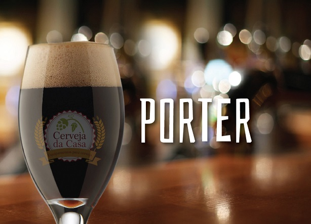 Kit de Insumos Cerveja Artesanal Porter (Opções de 10 a 40L)
