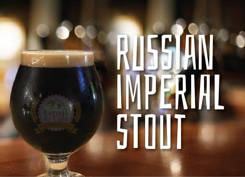 Kit de Insumos Cerveja Artesanal Russian Imperial Stout - RIS (Opções de 10 a 40L)  - Cerveja da Casa