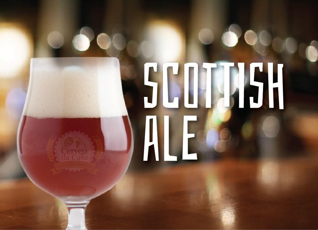 Kit de Insumos Cerveja Artesanal Scottish Ale (Opções de 10 a 40L)  - Cerveja da Casa