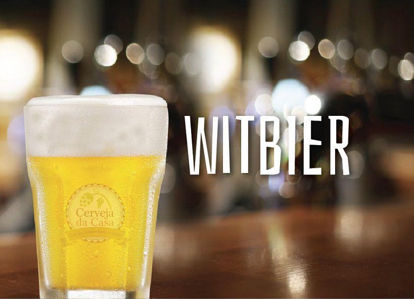 Kit de Insumos Cerveja Artesanal Witbier (Opções de 10 a 60L)  - Cerveja da Casa