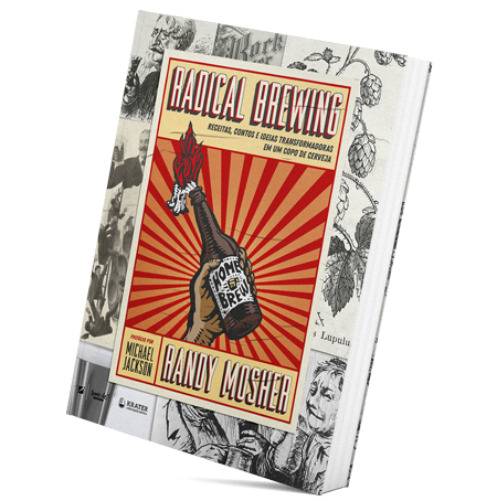"Livro ""Radical Brewing"" (Randy Mosher)"