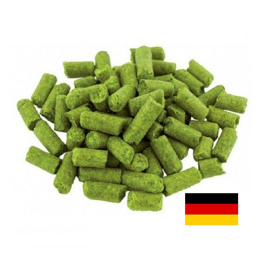 LÚPULO HERSBRUCKER - 50g (pellets)  - Cerveja da Casa