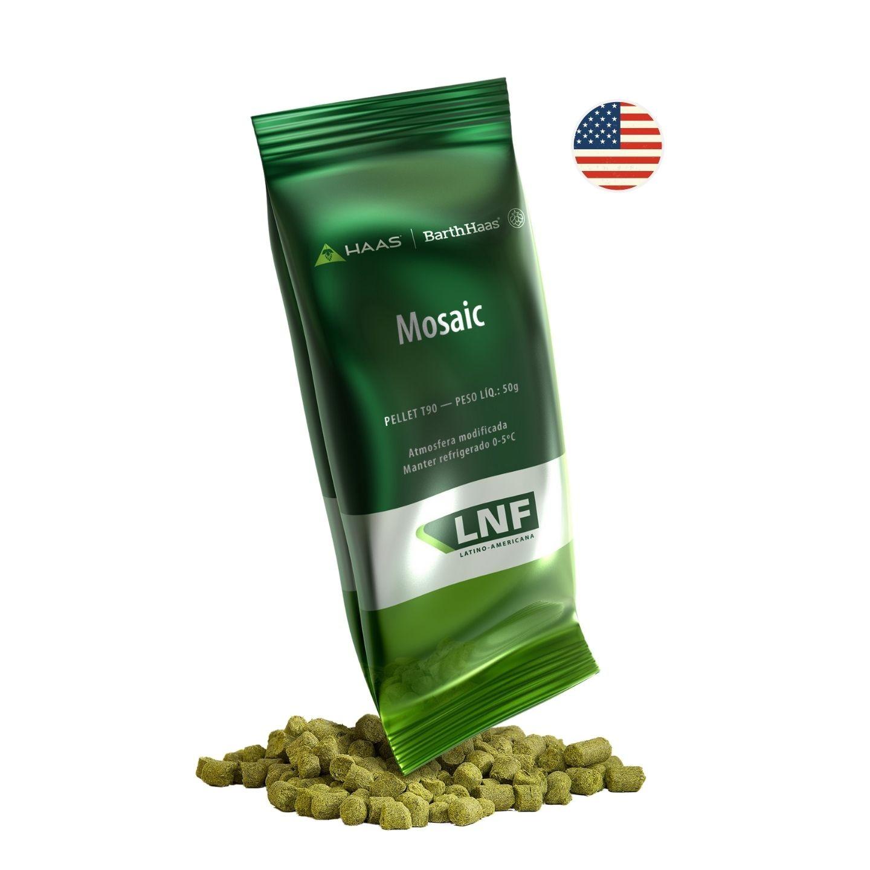 LÚPULO MOSAIC - 50g (pellets)