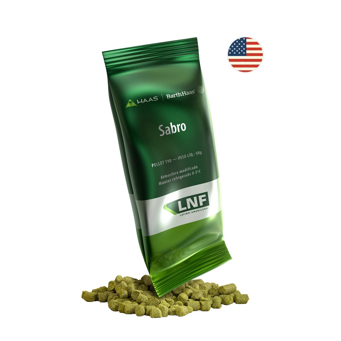 LÚPULO SABRO - 50g (pellets)
