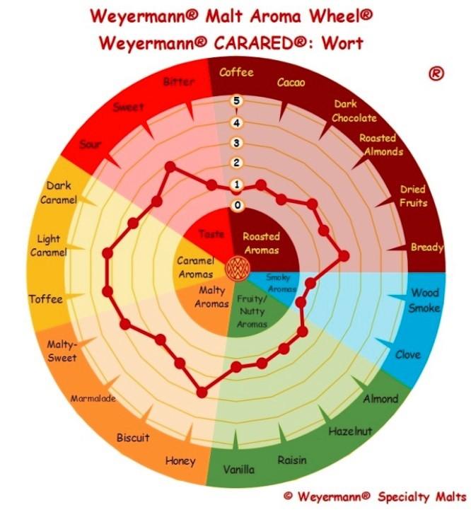 MALTE CARARED - WEYERMANN (Alemão)  - Cerveja da Casa