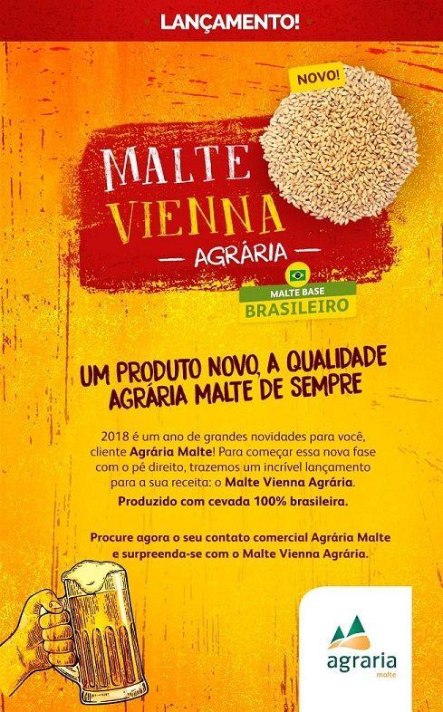 MALTE VIENNA - AGRÁRIA (NACIONAL)  - Cerveja da Casa