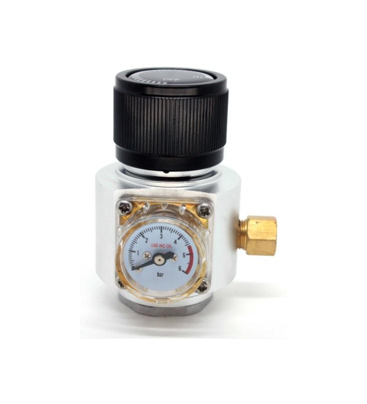 Mini Regulador de Pressão para Gás CO2