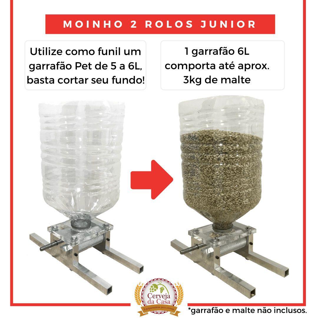 Moedor de Malte - Moinho 2 Rolos Junior  - Cerveja da Casa
