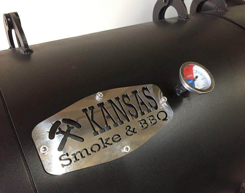 Pit Smoker Double Flow 1.000 - Kansas Smoke & BBQ  - Cerveja da Casa