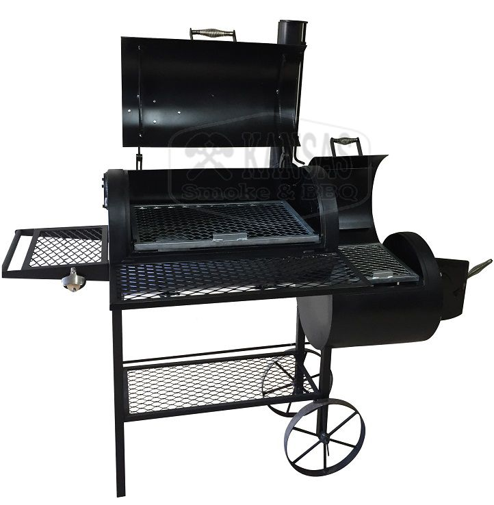 Pit Smoker Double Flow  600 - Kansas Smoke & BBQ  - Cerveja da Casa